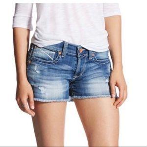 "Ariat women's baseball stitch 3"" boyfriend shorts"